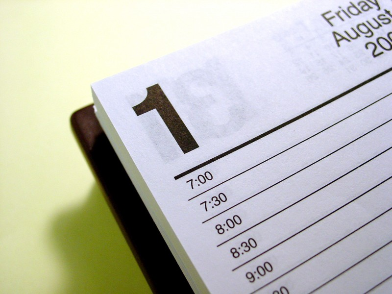Detalle calendario día 1