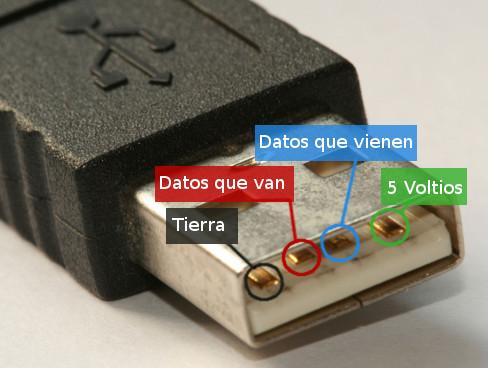 Pines puerto USB