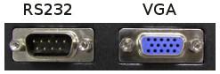 Conector RS232 vs VGA